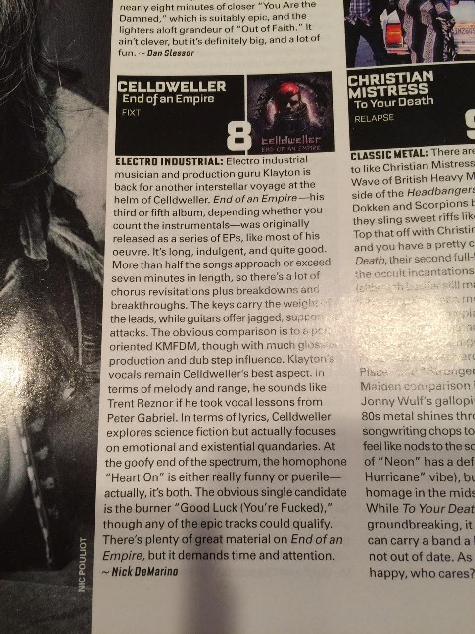 celldweller wish upon a blackstar review