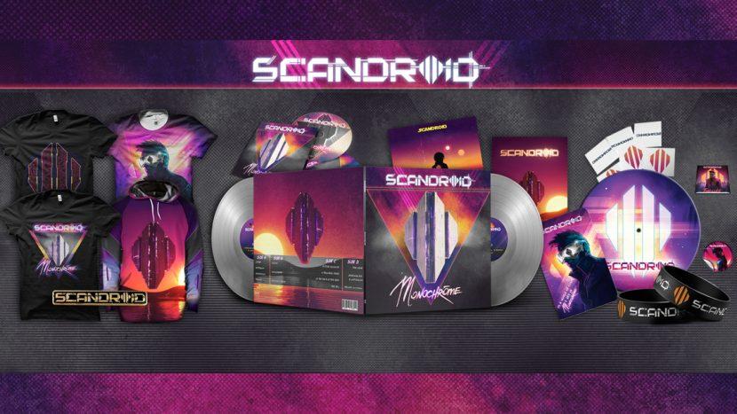 Scandroid Announces 'Monochrome' Limited Edition Double Vinyl