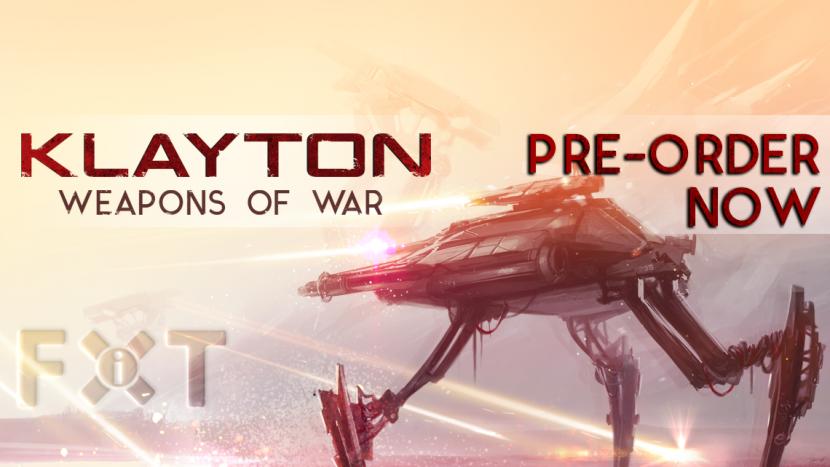 "Pre-Order Klayton's ""Weapons Of War"" Album"